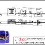 Jalur Pengisian Oli Pelumas Otomatis 5L-30L