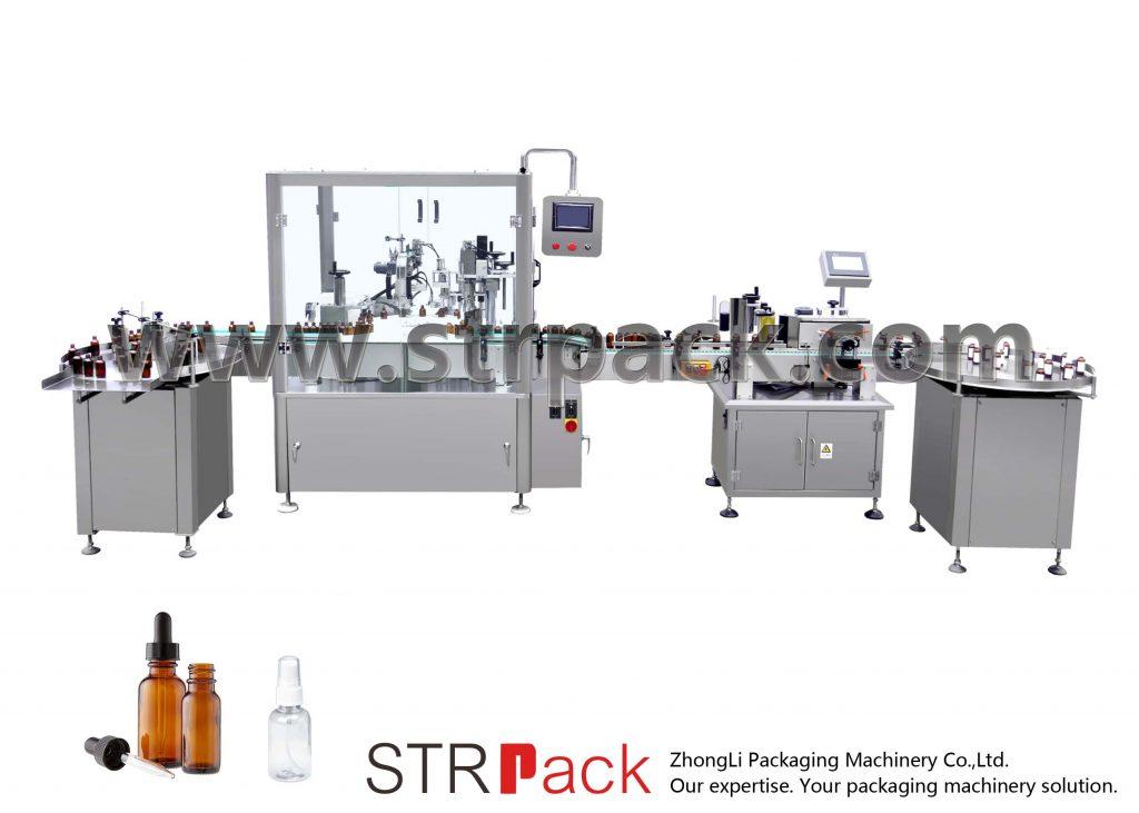Mesin Pengisian Botol Otomatis dan Mesin Capping