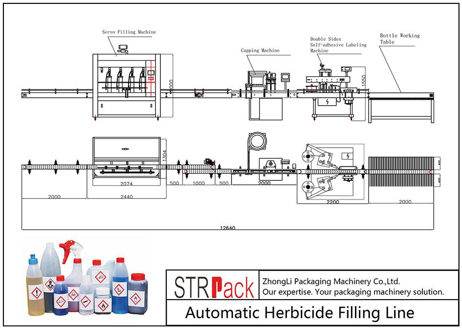 Jalur Pengisian Herbisida Otomatis