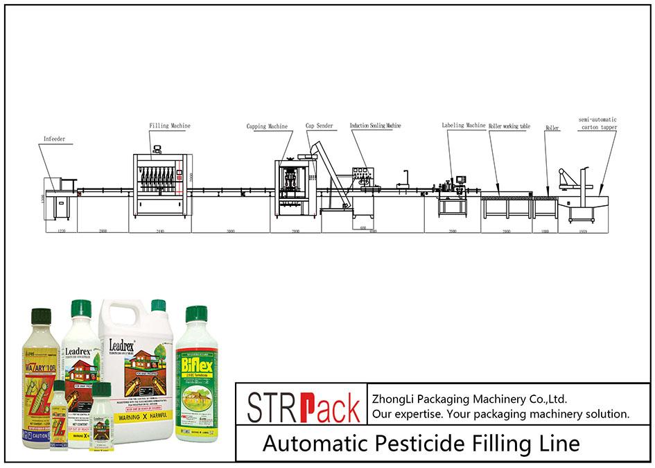 Jalur Pengisian Pestisida Otomatis