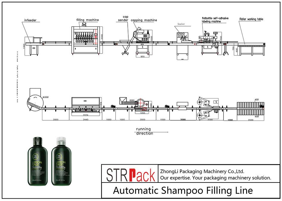 Jalur Pengisian Shampo Otomatis