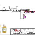 Jalur Pengisian Gel Shower Otomatis