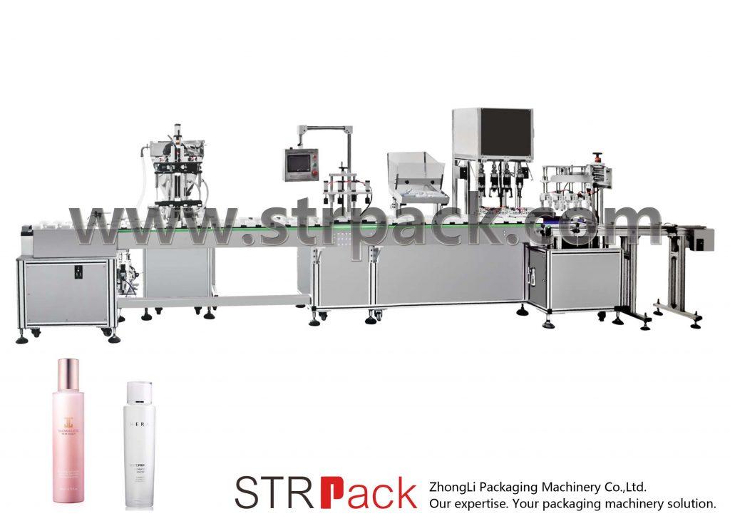 Mesin Pengisian dan Pembatasan Emulsi Air Otomatis