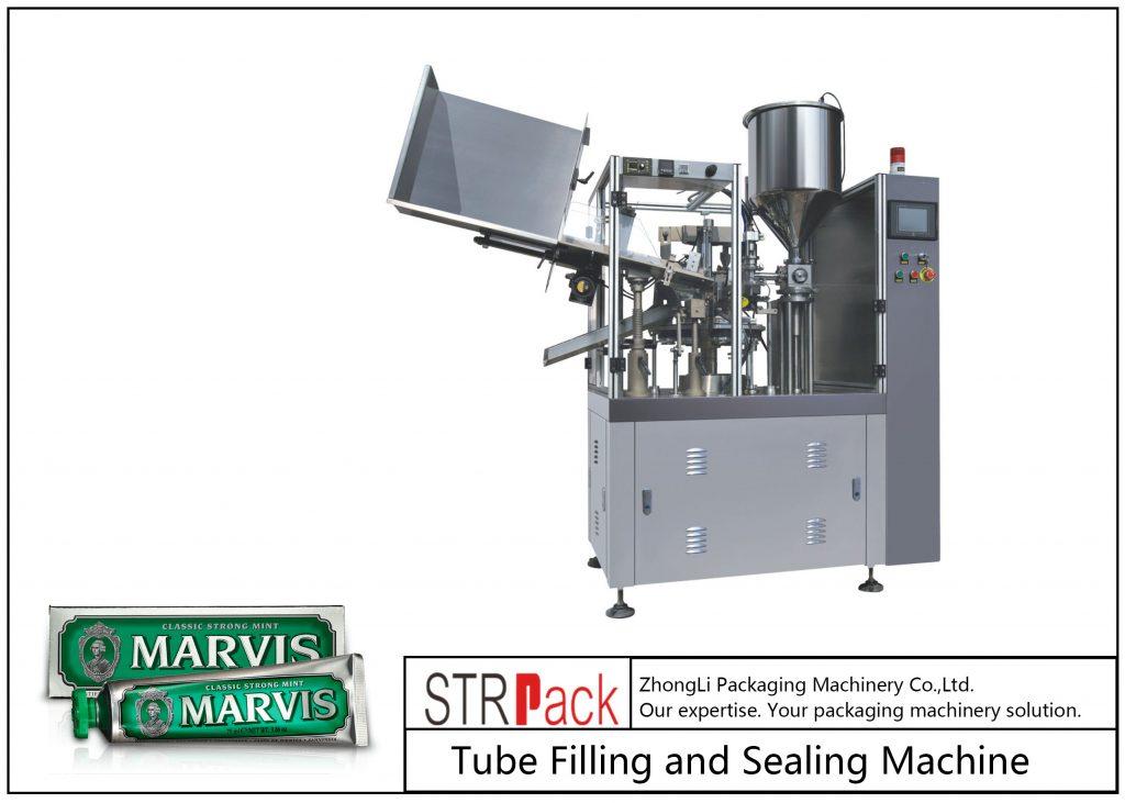 Mesin Pengisian dan Penyegelan Tabung Plastik SFS-60