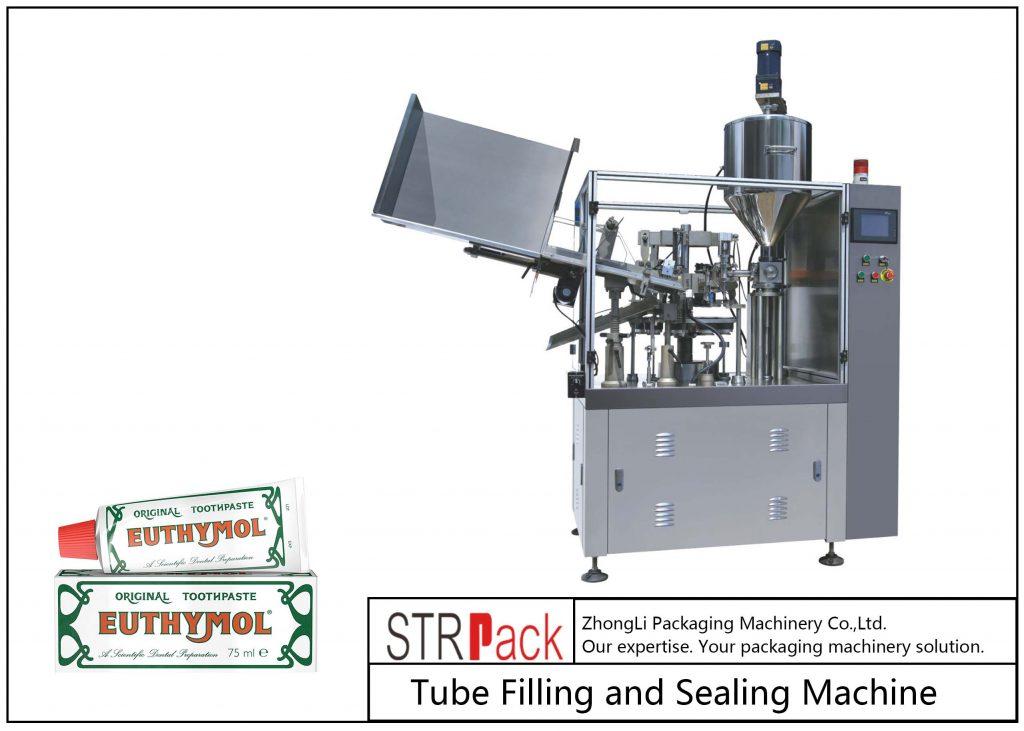Mesin Pengisian dan Penyegelan Tabung Logam SFS-60Z