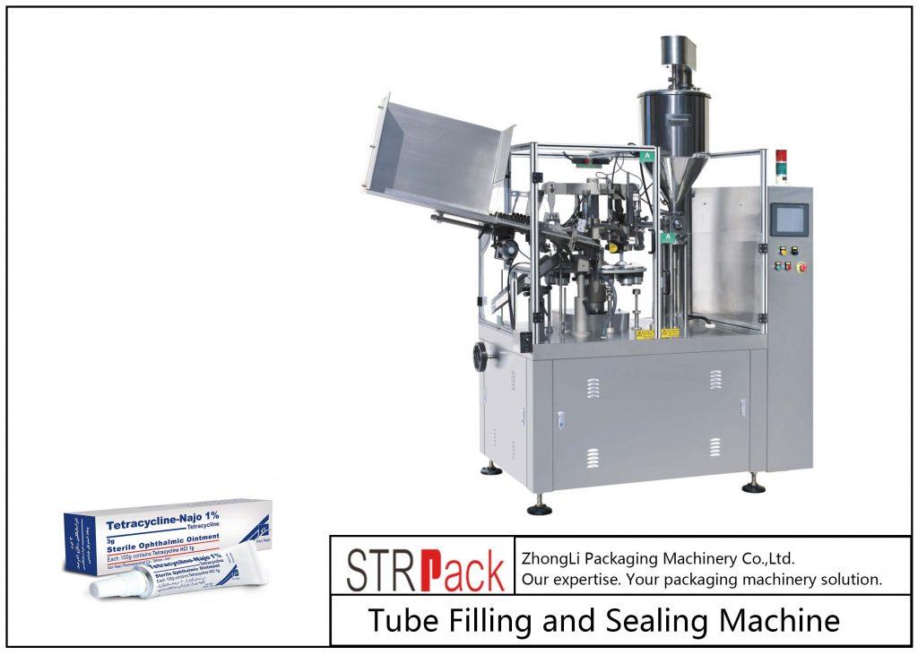 Mesin Pengisian dan Penyegelan Tabung Logam SFS-80Z